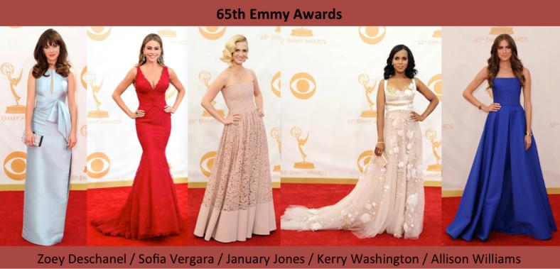 65 Emmy Awards Best Dressed - Mejor vestidas