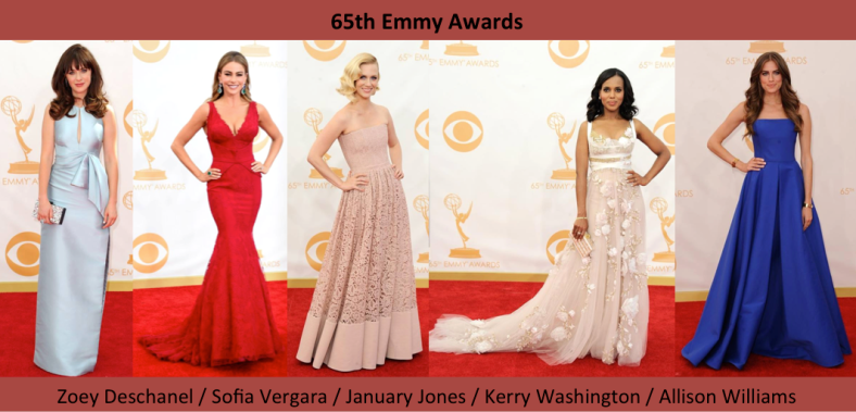 65 Emmy Awards Best Dressed - Mejor vestidas