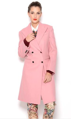 Dolce & Gabbana Double Breasted Wool Coat- Made in Italy