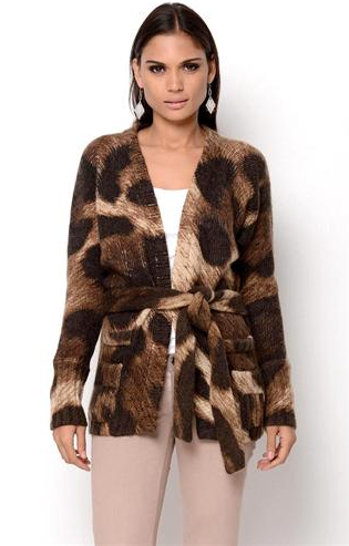 Dolce & Gabbana Leopard Knit Jacket - Made in Italy