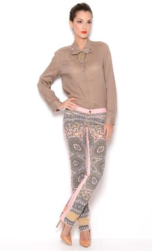 Dolce & Gabbana Printed Pants- Made in Italy