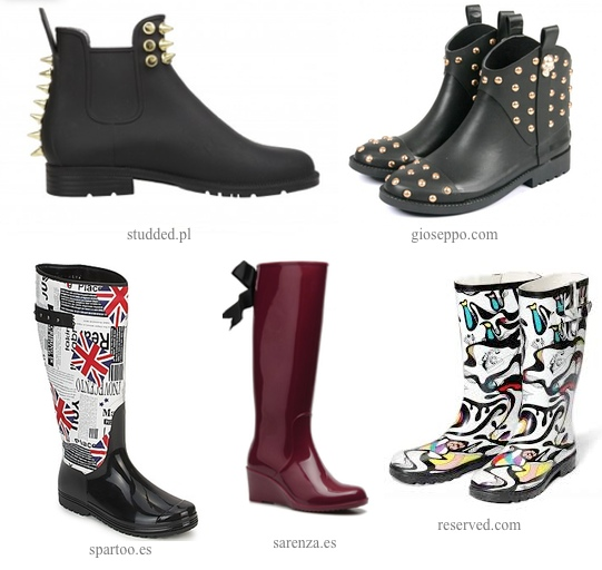 Botines-wellies