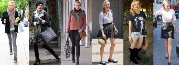Diane Kruger Street Style