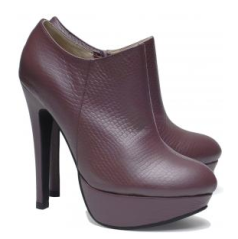 Friis&company Burgundy Elisotas Ankle Boots