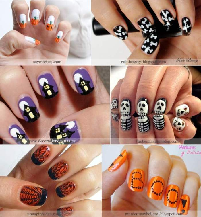 Halloween-nailart FBK