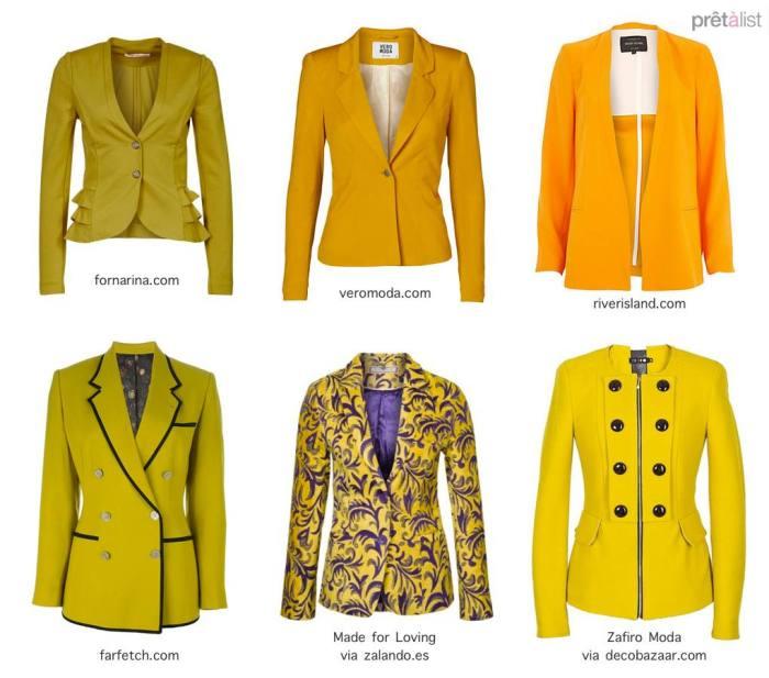 Yellow-blazers
