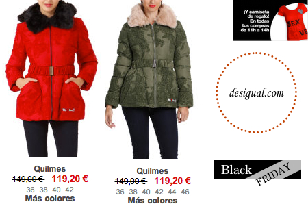 BLACK FRIDAY-Desigual