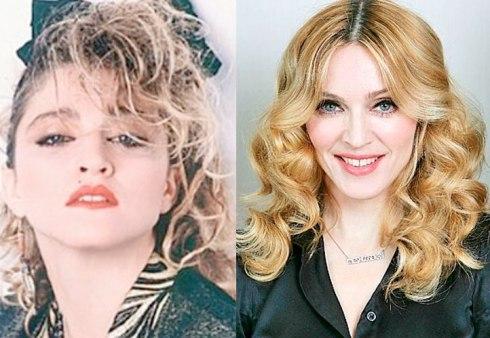 Celebs-antesdespues-Madonna