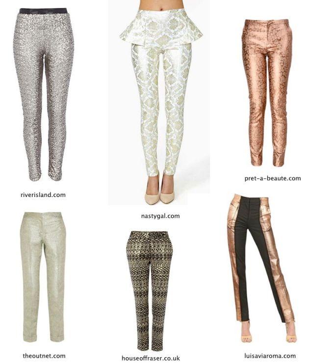 Colores metalicos-pantalon