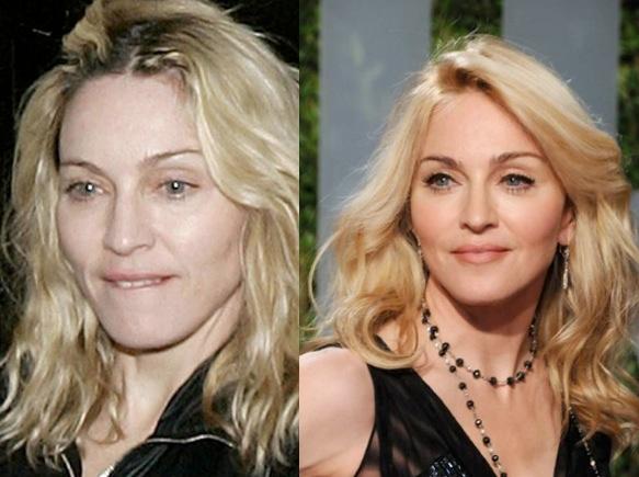 Sin maquillaje- Madonna