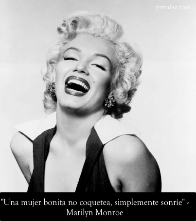 Sonrisa - Marilyn Monroe