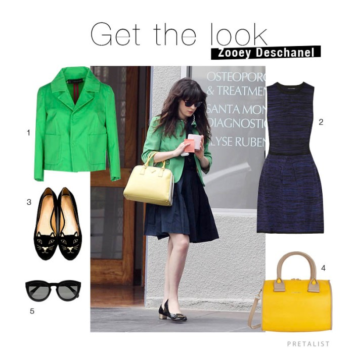 get the look zooey