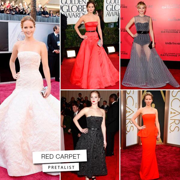 Jennifer Lawrence red-carpet