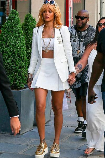 Rihanna en blanco
