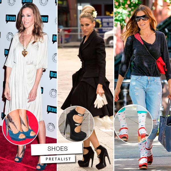 Sarah Jessica Parker zapatos