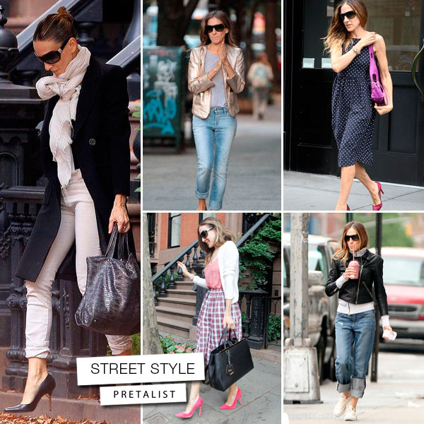 Sarah Jessica Parker street style